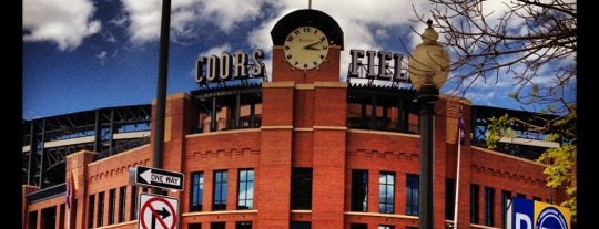 Coors Field is one of MLB Baseball Stadiums.