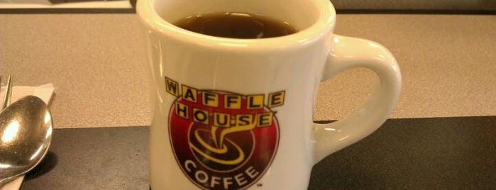 Waffle House is one of David : понравившиеся места.