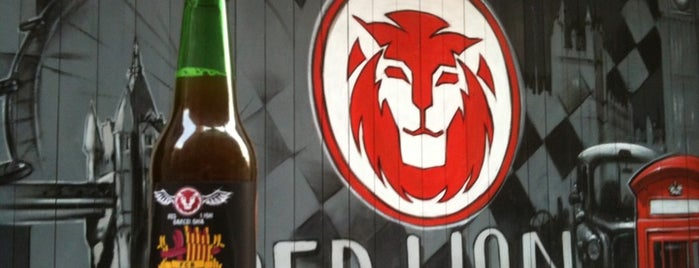 The Black Lion is one of Cerveseries.