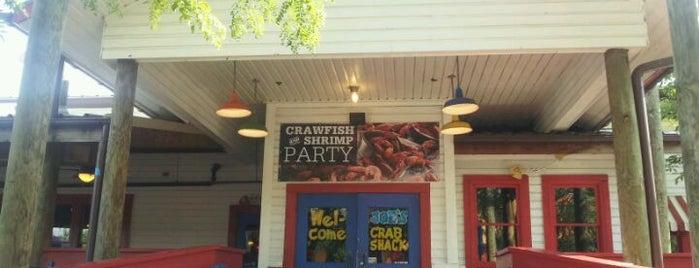 Joe's Crab Shack is one of foodie finds.