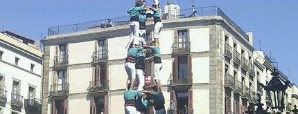 Plaça de Sant Jaume is one of BCN musts!.