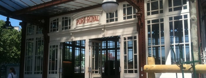 RER Port-Royal [B] is one of Lugares favoritos de Jonatan.