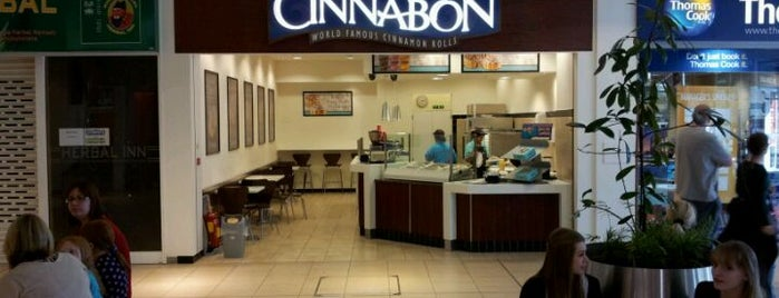 Cinnabon is one of London Town.
