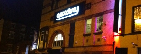 O2 Academy is one of Tour Locales.