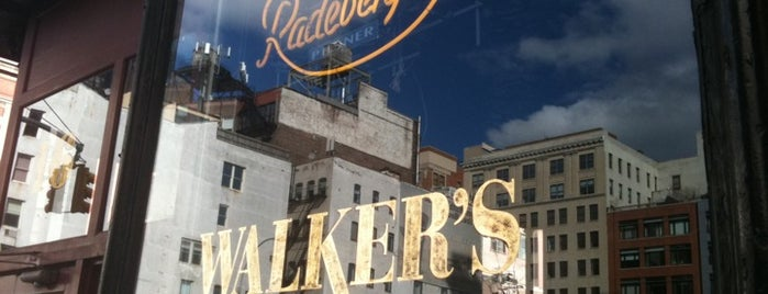 Walker's is one of NY Region Old-Timey Bars, Cafes, and Restaurants.