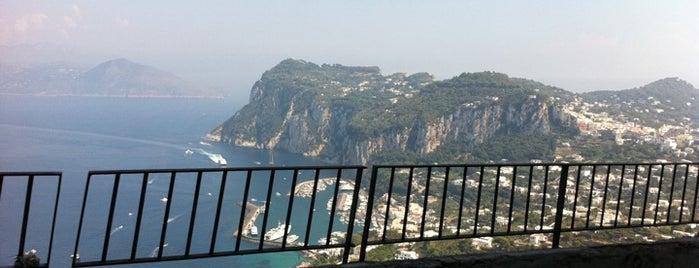Anacapri is one of Capri, Napoli.