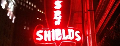 House of Shields is one of SF Bars.