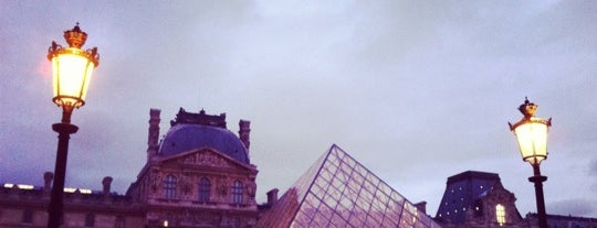 Museu do Louvre is one of Paris.
