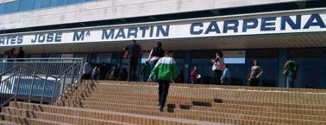 Palacio de Deportes José Mª Martín Carpena is one of Pistas de pádel en Málaga.