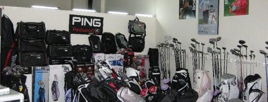 GLF Store Tienda de Golf BIMA Bogota is one of Tempat yang Disukai OLGA.