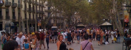La Rambla is one of Best of Barcelona.