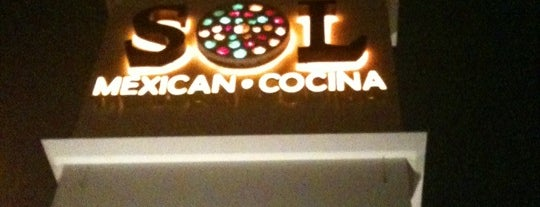 SOL Cocina is one of Locais salvos de Brent.