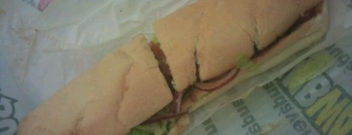 Subway is one of Veggie.