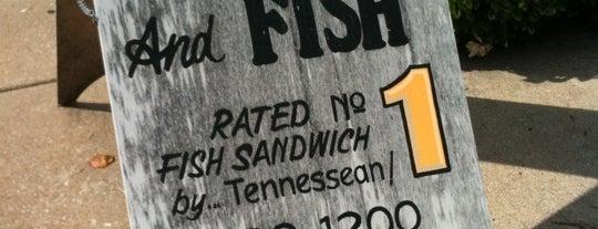 TJ's BBQ & Fish is one of Brittney: сохраненные места.