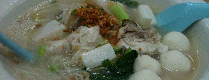 Siong Ho Fish Head Bee Hoon & Porridge (松和魚頭米粉和粥) is one of Charlie'nin Kaydettiği Mekanlar.