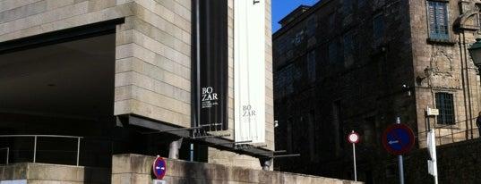 Centro Galego de Arte Contemporánea (CGAC) is one of Stevenson's Favorite Art Museums.