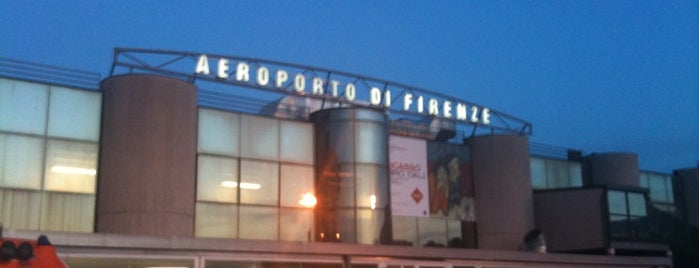 "Aeroporto di Firenze ""Amerigo Vespucci"" (FLR) is one of Firenze (Florence)."