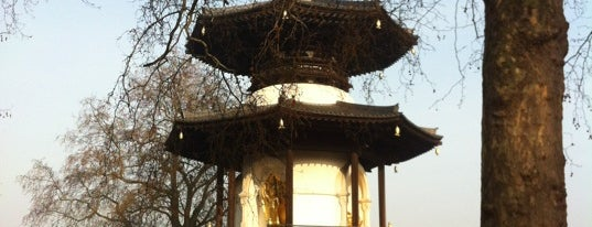 The Peace Pagoda is one of Tired of London, Tired of Life (Jul-Dec).
