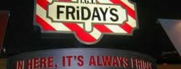 TGI Fridays is one of Restaurants.