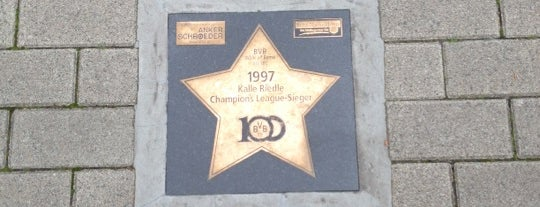 BVB Walk of Fame #80 1997 Kalle Riedle Champions League-Sieger is one of BVB Walk of Fame.