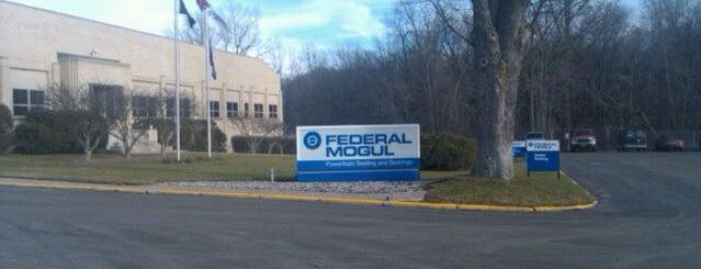 Federal Mogul is one of Tomek : понравившиеся места.