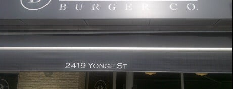 Gourmet Burger Co. is one of Toronto's Best Burger Joints.