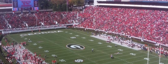Sanford Stadium is one of Great Sport Locations Across United States.