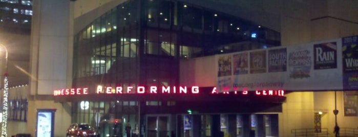 TPAC - Tennessee Performing Arts Center is one of Favorites.