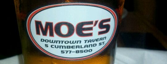 Moe's Downtown Tavern is one of Top picks for Bars.