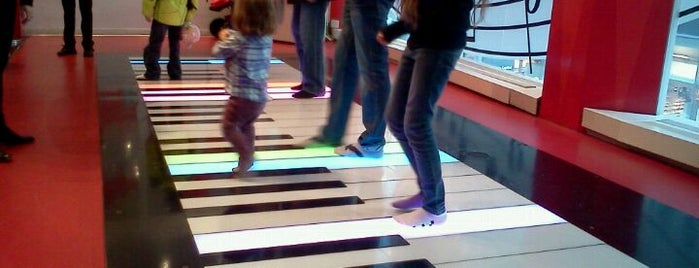 FAO Schwarz is one of Fun Places in NYC Metro-Area.
