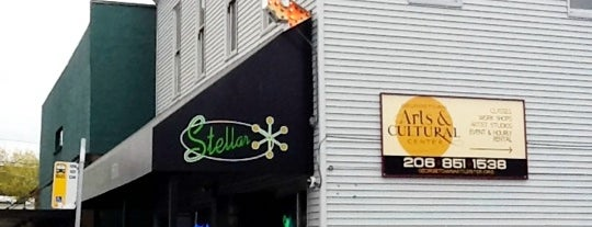 Stellar Pizza is one of 20 favorite restaurants.