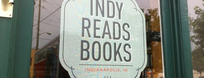 Indy Reads Books is one of Lieux qui ont plu à David.