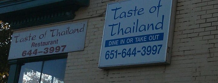 Taste Of Thailand is one of Places I've Eaten.