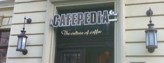 Cafepedia is one of Lieux qui ont plu à Stoian.