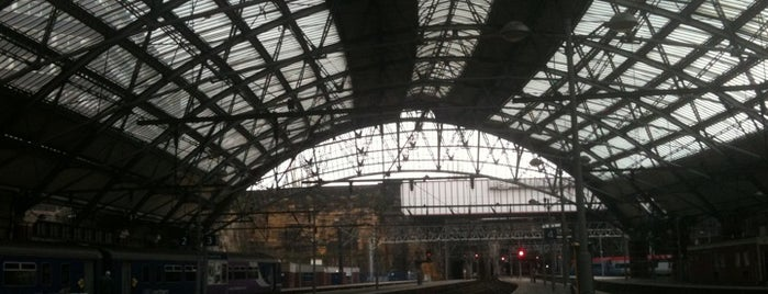 Liverpool Lime Street Railway Station (LIV) is one of Liverpool.
