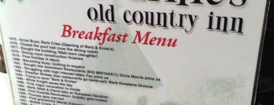 Barb & Ernie's Restaurant is one of NA & ZA lijst.
