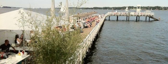 Seebad & Seebar Düsternbrook is one of WiFi Hotspots Kiel.