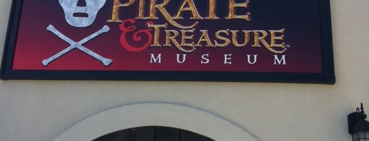 St. Augustine Pirate and Treasure Museum is one of Historic Sites - Museums - Monuments - Sculptures.