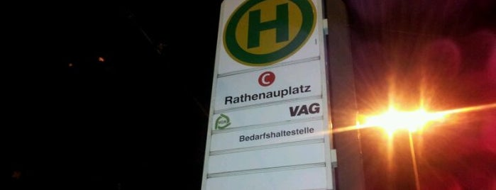 U Rathenauplatz is one of Nürnberg, Deutschland (Nuremberg, Germany).