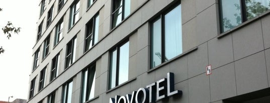 Novotel Berlin Mitte is one of Posti che sono piaciuti a Özlem.