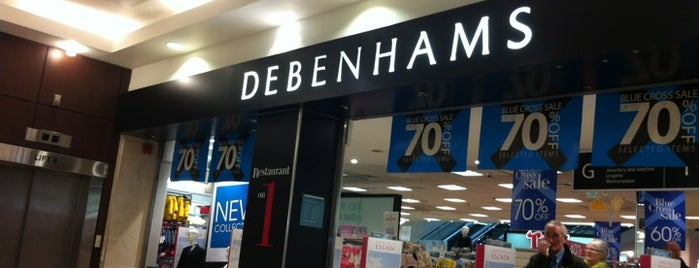 Debenhams is one of Tempat yang Disukai Carl.
