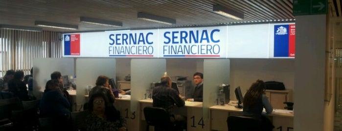 Sernac Financiero is one of Locais curtidos por Sandra.