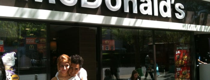 McDonald's is one of Lugares favoritos de B.