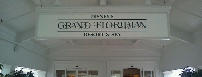 Disney's Grand Floridian Resort & Spa is one of My favorite hotels.
