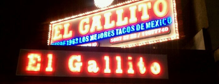El Gallito is one of Taquerias para la dieta..