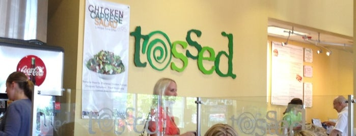 Tossed is one of North Carolina To-Do.