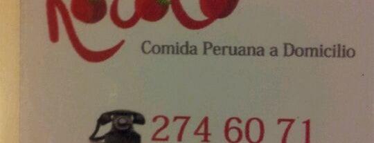 Rocoto Comida Peruana a Domicilio is one of Veggie Santiago (Santiago Vegetariano y Vegano).