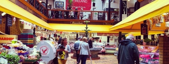 The English Market is one of Mark's list of Ireland.