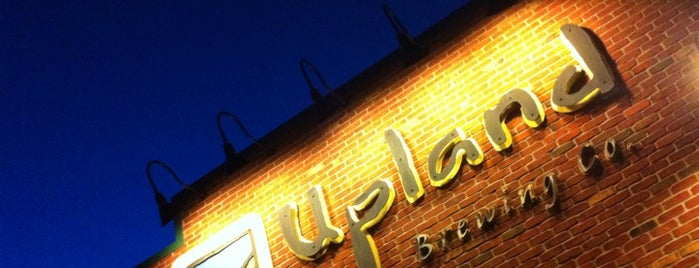 Upland Brewing Company Brew Pub is one of Indiana Breweries.