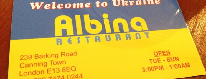 Albina is one of London best places to eat.